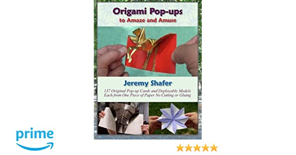 Buy Origami Pop Ups To Amaze And Amuse Book Online At Low Prices In