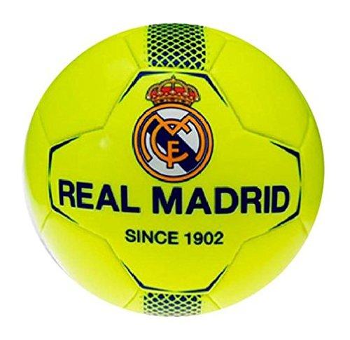 Real Madrid Petit Ballon de foot JAUNE FLUO