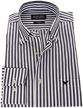 178629 - Bots & Bots - Camicia Uomo - Exclusive Collection - 100% Cotone - Button Down - Normal Fit