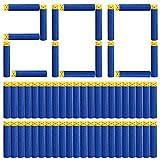 Vidillo Dardos de Espuma de Balas de Recambio Azul de 200 Piezas para Nerf N-Strike,Pistolas de Juguete Blasters de la Serie Elite para Juegos de Deportes al Aire Libre