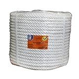 PROFER HOME - Cuerda Nylon Mate 6 Mm Blanco Profer Home 100 M
