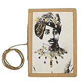 Store Indya - Diario notebook hardbound e carta fatta a mano Scrittura viaggi Sketchbook Planner Riviste per organizzatori personali (collezione indiana del Maharaja)