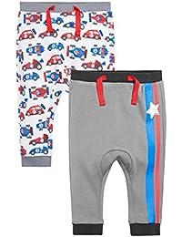 next Bebé Niño Pack De Dos Pantalones De Chándal Carreras Varios Colores Corte Estándar Ropa De Abajo