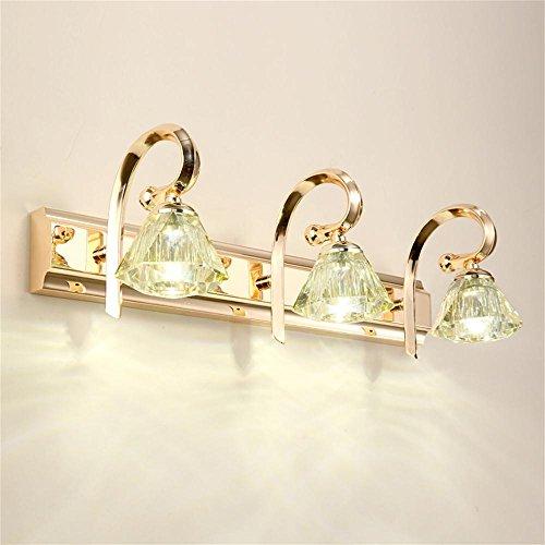Carolina Trade- Europea - Style Bagno LED specchio luce del Governo Vanity Vanity lampada moderna Jane europea bagno specchio frontale Lights ( colore : 3 Head (white