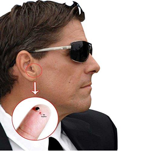 CooMax Mini Spy Auricolare Invisibile Auricolare Cheat Covert Auricolare per telefono cellulare