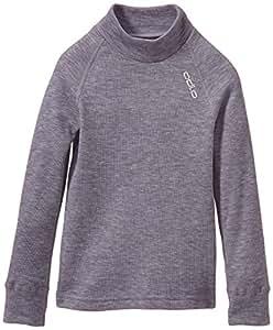 Odlo 150199 T-Shirt manches longues Enfant Grey Melange FR : 4 ans (Taille Fabricant : 104)