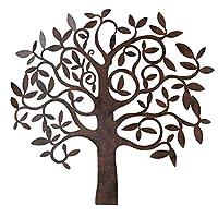 Whole House Worlds wall object tree B71cm iron