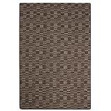 havatex Schlingen Teppich Torro - Farbe wählbar | Geprüfte Qualität: die Teppiche sind schadstoffgeprüft robust und pflegeleicht | für Wohnzimmer Schlafzimmer u.v.m, Farbe:Braun, Größe:60 x 120 cm