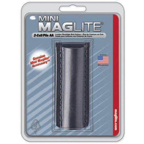 Mag-Lite AM2A026E Leder-Gürtelhalter für Mini Maglite AA