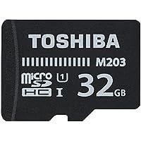 Toshiba M203, 32 GB, microSDXC 32GB MicroSDXC UHS-I Clase 10 memoria flash - Tarjeta de memoria (32 GB, microSDXC, 32 GB, MicroSDXC, Clase 10, UHS-I, 100 MB/s, Negro)