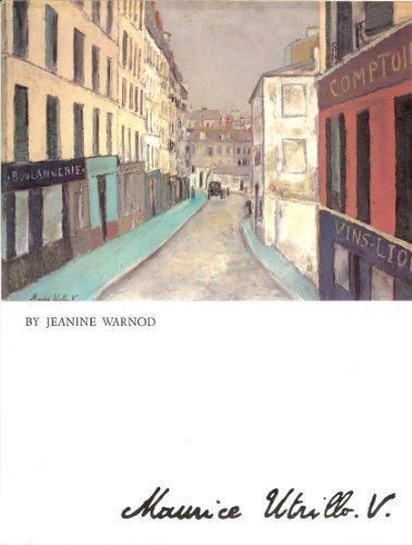 Maurice Utrillo par Jeanine Warnod