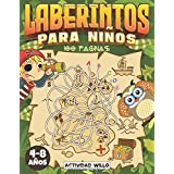Laberintos Para Niños: Cuaderno de Laberintos para Niños 4 - 8 años   Pasatiempos para Niños   Juegos Educativos   Libro Acti