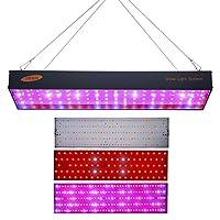 1000 وات LED نمو ضوء لوحة ليد لنمو الدفيئة الزراعية المنزلية نباتات الزهور النمو النباتي