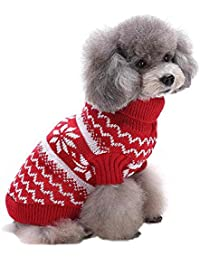 SAMGU Vêtements de Noël Cute Puppy Chien Chat Chaud Manteau Pull Tricots