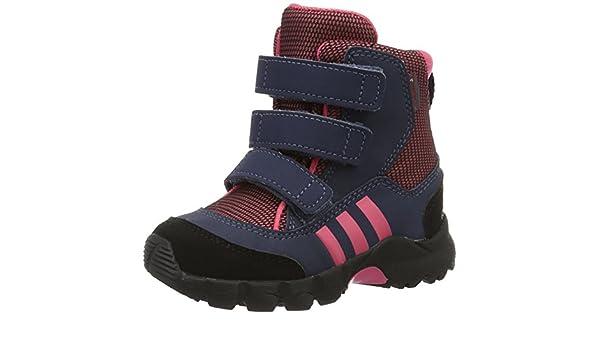 huge selection of e4c8a bec74 Adidas CW Holtanna Snow CF I, Chaussures Premiers Pas bébé (garçon) Rose  25 Amazon.fr Chaussures et Sacs