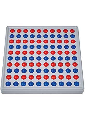 SCHUBI Abaco 100: Modell A 10/10 Kugeln (rot/blau) (Blaue Tafel)