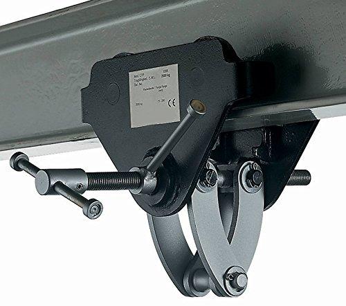 """Yale amz1022766CTP """"Integral Trolley per fascio, Morsetto 3.0T, larghezza fascio: 75mm-200mm"""