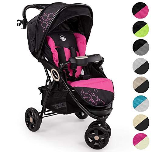 Froggy® passeggino per bambini dingo passeggino buggy jogger ultraleggero cintura di sicurezza a 5 punti compatto ripiegabile funzione lettino parasole