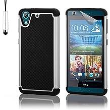 32nd® Funda Rígida Anti-Choques de Alta Proteccion para HTC Desire 626 Carcasa Defensora de Doble Capa - Blanco