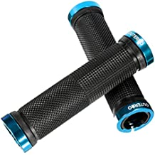 Outerdo 1- Bandas enrollables para manillar de bicicleta de montaña, azul