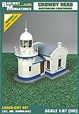Bahnhof Miniaturen rmh0: 042Crowdy-Head Leuchtturm Diorama, 10,8x 8,4x 9,5cm