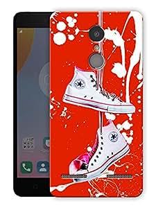 "Humor Gang Shoes my life Printed Designer Mobile Back Cover For ""Lenovo k6 Power"" (3D, Matte Finish, Premium Quality, Protective Snap On Slim Hard Phone Case, Multi Color)"