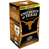 NCAA University of Texas Upper Deck Trading Cards - Blaster Box by Upper Deck