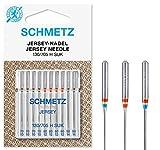 SCHMETZ Nähmaschinennadelset 130/705 H SUK | 10 Jersey-Nadeln |...