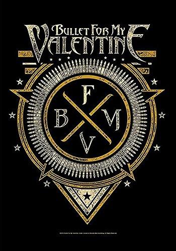 Bullet For My Valentine-Bandiera Poster Bandiera Emblem