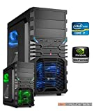 Gamer PC System Intel, i7-7700K (Kaby Lake) 4×4,2 GHz, 16GB DDR4 RAM, 2000GB HDD, nVidia GTX1060 -6GB , Windows 10 (Testversion) Gaming Computer Büro Multimedia dercomputerladen  Gamer PC System Intel, i7-7700K (Kaby Lake) 4×4,2 GHz, 16GB DDR4 RAM, 2000GB HDD, nVidia GTX1060 -6GB , Windows 10 (Testversion) Gaming Computer Büro Multimedia dercomputerladen 51zng6SScDL