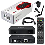 MAG 254 Original Infomir / HB-DIGITAL IPTV SET TOP BOX Streamer Multimedia Player Internet TV IP Receiver + Clé USB WiFi de HB-Digital avec antenne + HB Digital HDMI câble