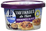 Petit Navire Les Tartinâtes de Thon Aubergines/Olives 125 g