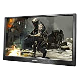JOHNWILL 15,6 Zoll tragbarer IPS-Monitor Full-HD-Bildschirm 1920 x 1080 Monitor Tragbarer ultradünner schwarzer CNC-Metallgehäuse HDMI/USB PS4-monitore Gaming-Monitor PC-Monitore