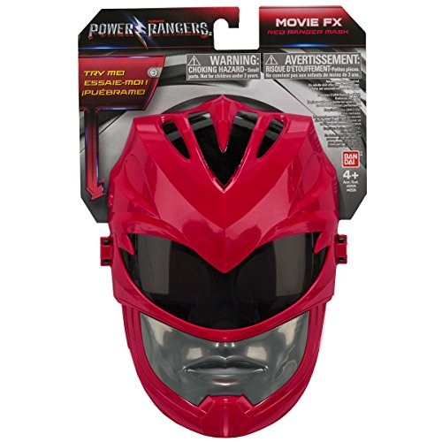 Image of Power Rangers 42525 Movie Red Ranger Sound Effects Mask