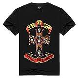 JJZHY Guns N 'Roses American Legendary Hard Rock Band Camiseta de Manga Corta de...