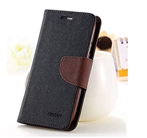 4 Season Mercury Diary Wallet Style Flip Cover Case for Vivo Y51L -(Brown)