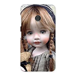 Cuty Girl Angel Back Case Cover for Lumia 530