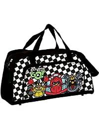Angry Birds - Bolsa de viaje, color negro y blanco (Montichelvo 40336)