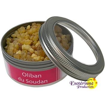 Boîte d'Encens Premium en Grains - Oliban du Soudan