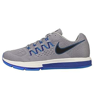 Nike Men's Air Zoom Vomero 10, Wolf Grey/Black-Dark Grey-Photo Blue, 6.5 M US