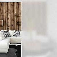 Relaxdays Milchglasfolie, statisch haftend, Blickdicht, Sichtschutz für Scheiben, Fenster, PVC, 90 x 100 cm, milchig