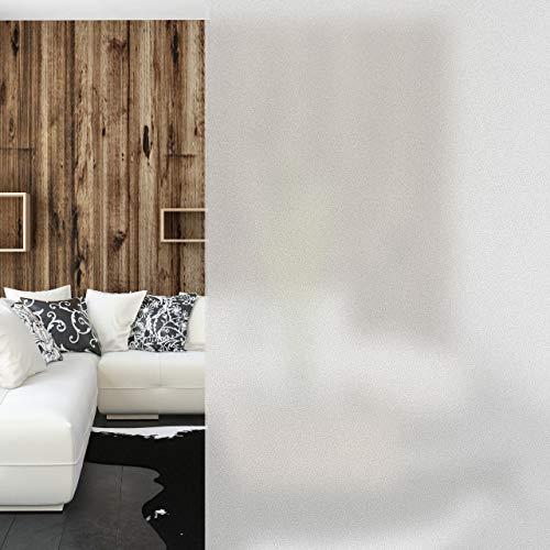 Relaxdays 10023703_838 Pellicola in PVC Satinata, Statica, Opaca, Privacy per Vetri di Porte e Finestre, 60 x 200 cm