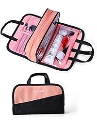 Make up Bag Women Waterproof Portable Professional Makeup Pouch Travel Multifunctional Cosmetic Brush Bag for Women Girl