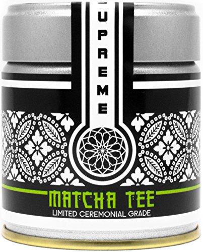 Bio-Matcha-Tee-Pulver (30g) | Seltene Spitzen-Qualität | Ceremonial Grade | Original Grüntee-Pulver aus Uji-Japan | Erfolgreich Abnehmen Ohne Zu Hungern
