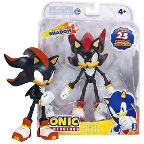 Shadow: Super Poser Sonic The Hedgehog ~7 Action Figure Series [2013 Edition] by Jazwares by Jazwares
