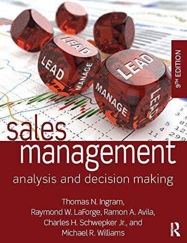 Sales Management: Analysis and Decision Making (English Edition) por Thomas N. Ingram