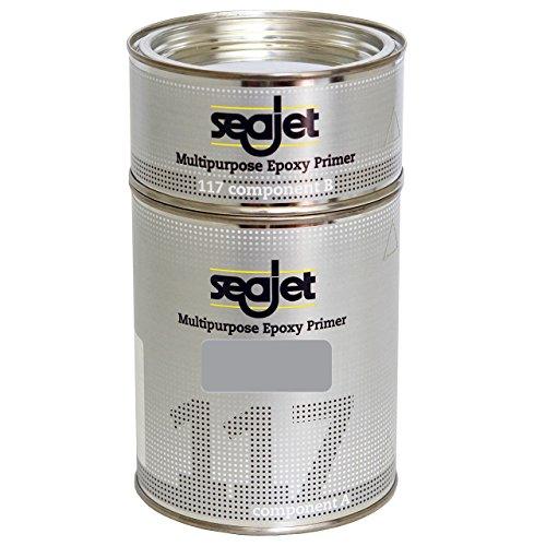 Seajet 117 universeller Epoxy Primer 1 Liter, Farbe:Silber -