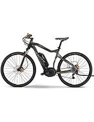 E-Bike Haibike Xduro Cross RX 400Wh/36V 15 HB BPI 27G 28' Herren in grau/schwarz/orange matt, Rahmenhöhe:52