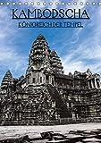 Kambodscha - Königreich der Tempel (Tischkalender 2020 DIN A5 hoch): Wunderschöne Aufnahmen aus den Kambodschanischen Tempelanlagen (Monatskalender, 14 Seiten ) (CALVENDO Orte) -