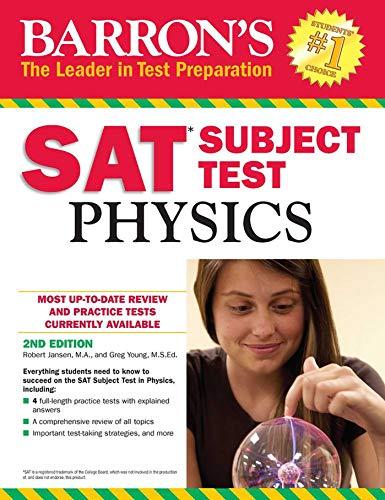 Barron's SAT Subject Test: Physics por Robert Jansen